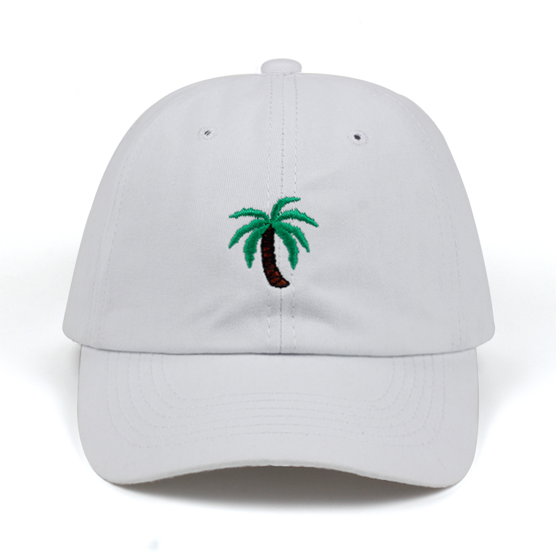 f2e71da4a US $4.97 30% OFF|2018 new Embroidery Palm Trees Curved Dad Hats Take A Trip  Baseball Cap Coconut Trees Hat Strapback Hip Hop Cap Adjustable-in ...