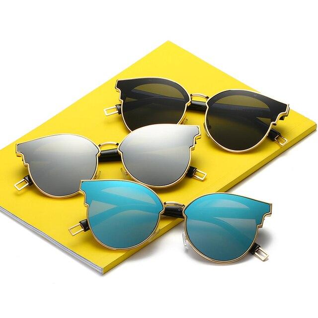 0a648ffbe7 MYDYICAT Original brand designer design sunglasses women cat eyes driving  mirrors colorful glasses anti UV fashion