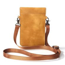 купить Fashion Double Zipper Design Crossbody Bags Genuine Leather Cell Phone Bag Girl Shoulder Handbag Mini Messenger For Women Female по цене 459.33 рублей