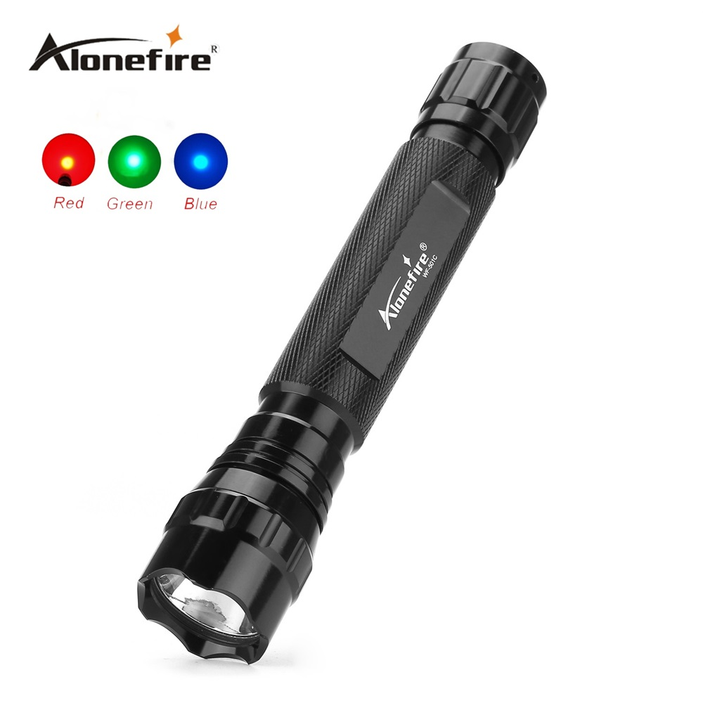 501C Tactical LED Flashlight Handheld Flashlight Torch Water Resistant Lamp for Red/blue/green Tactical led light Outdoor Sports