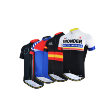 EMONDER Quick Dry Cycling Jersey Summer Short Sleeve MTB Bike Women Men Jacket Bicycle Shirt