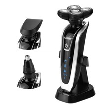 KEMEI 5D Heads Waterproof Electric shavers travel use with nose trimmer Razor Safety Professional shaver for man 2625