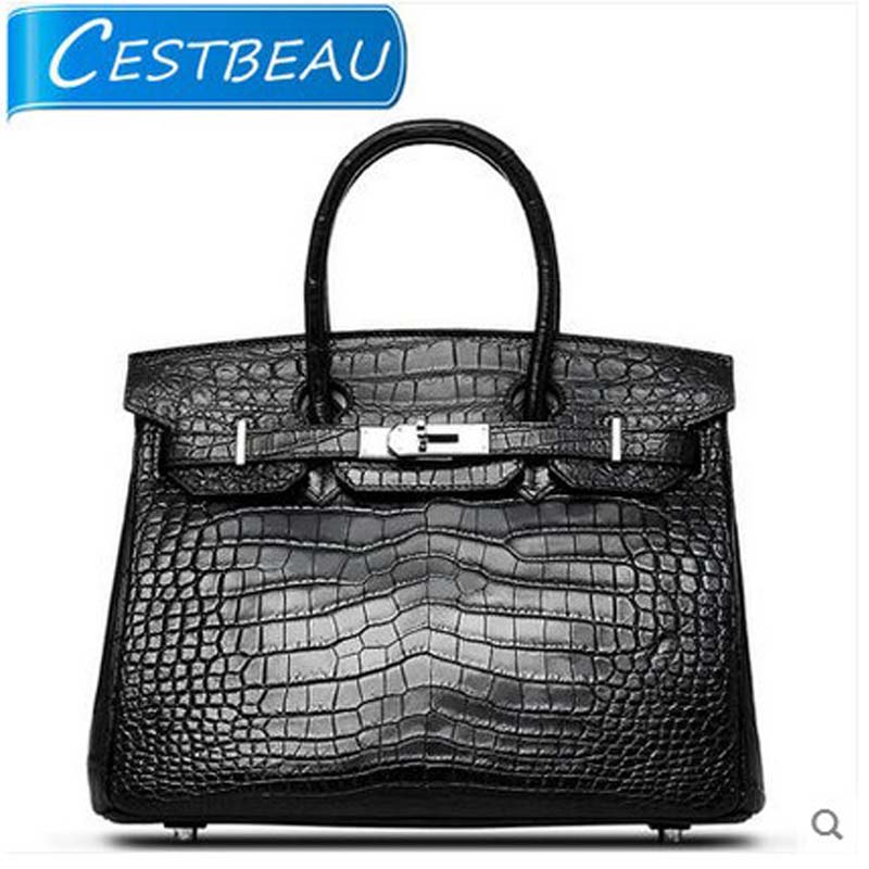 cestbeau new free shipping imported alligator skin belly women bag lady handbag luxury crocodile bag lady free shipping sweet potato biscuits 600g cheese imported from malaysia snack food imported china sweets