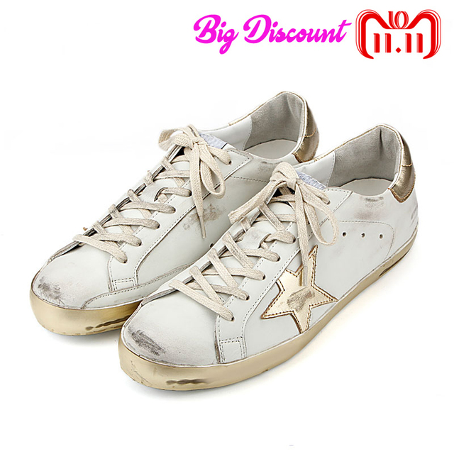 Woman Casual Casual Woman Schuhe Round Toe Worn Out Distressed Genuine Cow Leder 7ac3e5