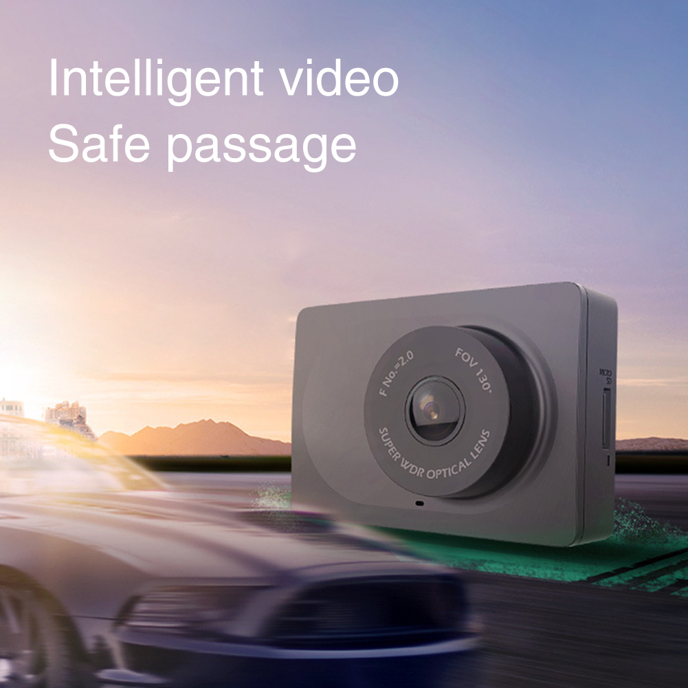 Car DVR Dashboard Smart YI Driving Wide-Angle-Recorder WIFI Night-Vision 1080P Front