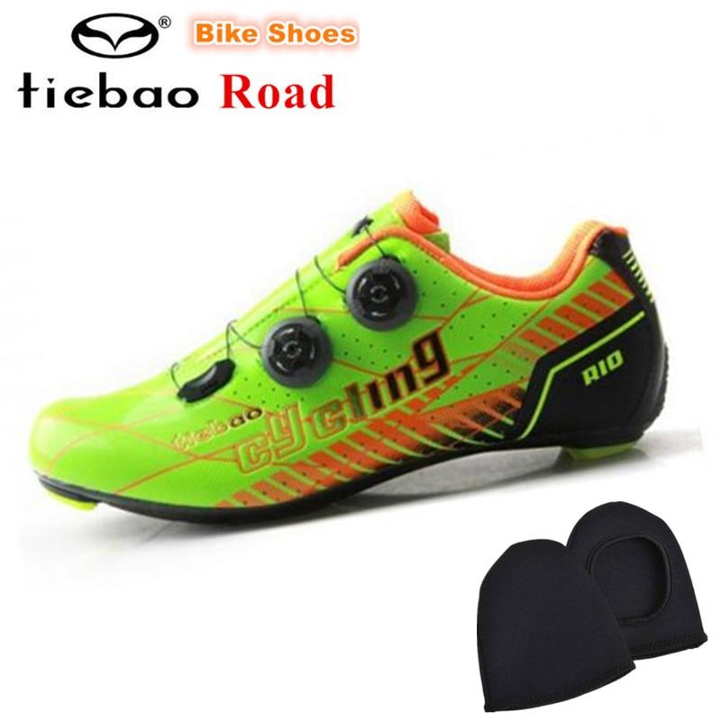 TIEBAO Road Carbon Cycling font b Shoes b font 2018 New Arrival Outdoor Professional Road font