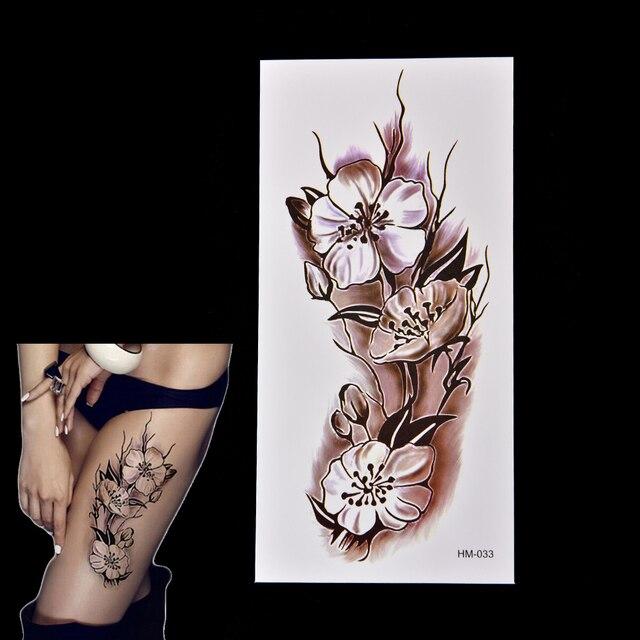 Moda Zdejmowany Flash Tatuaż Henna Fałszywy Tymczasowe Wodoodporna