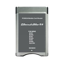 SD To PCMCIA Card Reader Adapter For Mercedes Benz MP3 Memory Support 32GB