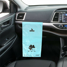 Car Trash Can Garbage Dust Case Back Seat Organiser Storage Hanging Bag Pocket Waterproof Cleaning Pregnant