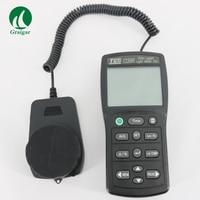 Горячая Распродажа TES 1339R регистратор данных свет метр тестер 0,01 до 999900 лк PC запись данных