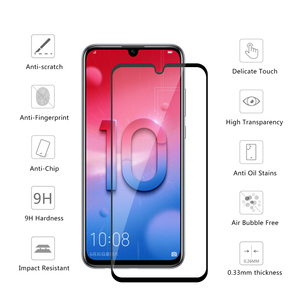 Image 2 - 3D Safety Glass On Honor 10 lite Tempered Glas For Huawei Honor 10 lite protective glass Honor10 light 10lite display Armor Film