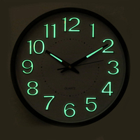 Digital Wall Clocks Battery Operated Wall Clock Modern Design Electronic Desk Clock Fluorescent Best Selling 2018 Products 4B001