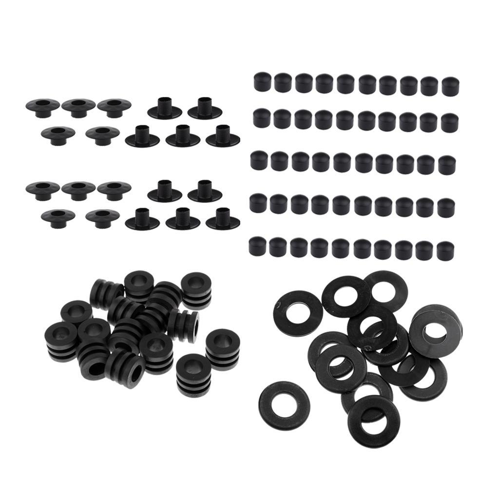 Washers + End Caps +Bumper + Rod Bearing Foosball Table Football Rod Washers Bumpers, Rod Bearing And End Caps
