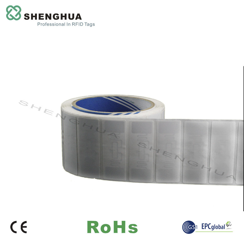 50pcs/pack Customization Available UHF Logistics RFID Label Passive RFID Tag Support Logo Printable