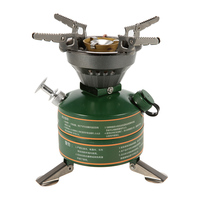 BRS Camping Stove Camping Hiking Portable Non preheating Gasoline burning Fuel Stove Gasoline Picnic Furnace Boiler Cooker