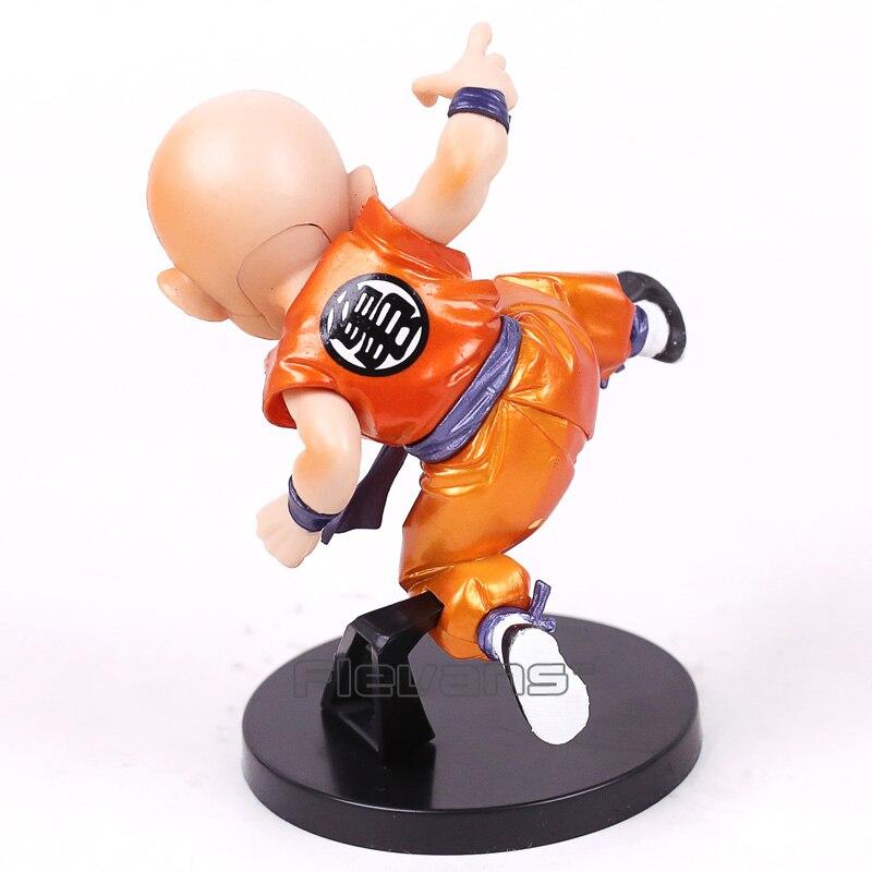 Dragon Ball SCultures Krillin Figure Metallic Color ver. PVC Figure Collectible Model Toy 12.5cm