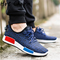 Lowest Price 2016 New Spring Summer Men Casual Shoes Fashion Breathable Lovers' Shoes Walking Male Gay Flat Shoes