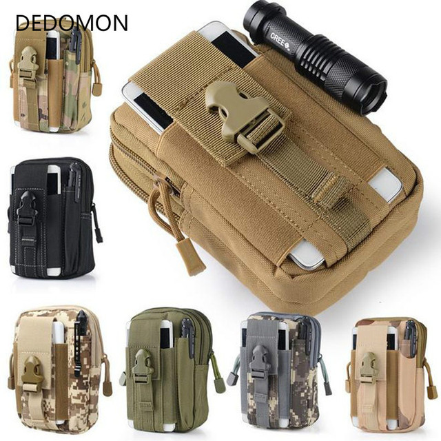 Men's Outdoor Camping Bags,Tactical Molle Backpacks,Pouch Belt Bag,Military Waist Backpack,Soft Sport Running Pouch Travel Bags