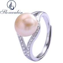 4933923bcfaf Slovecabin Vintage regalo de día de San Valentín Original de Plata de Ley 925  anillo de boda con CZ claro para las mujeres bien .