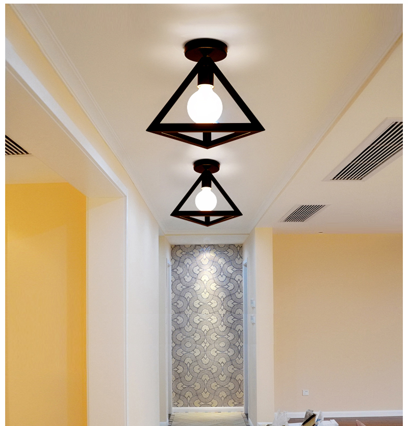 HTB1 1q1sDqWBKNjSZFAq6ynSpXaF Vintage Ceiling Lamp For Living Room Bedroom Nordic Wrought Iron Retro Corridor Aisle For Living Room Bar Ceiling Light
