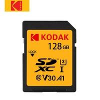 Kodak sd card 64GB memory card 128gb SDXC U3 V30 carte sd for Sony Canon Nikon micro SLR digital camera cartao de memoria