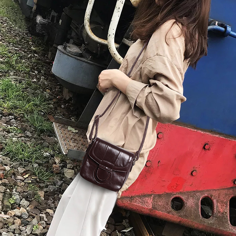 Cobbler Legend Genuine Leather Bag Summer Small Bags for Women 2019 Purses and Handbags Vintage Shoulder Crossbody Mini Bag