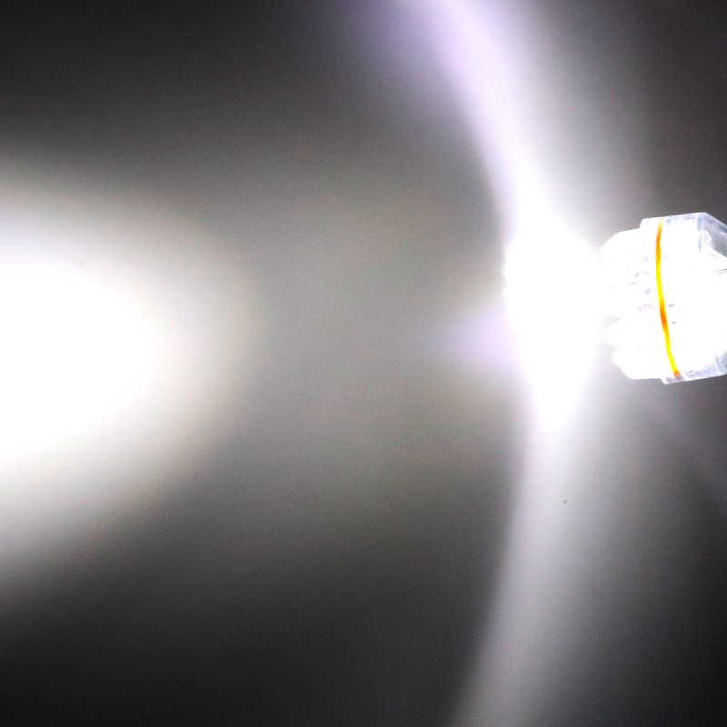 100Pcs מכונית אופנוע LED S25 1157 bay15s p21/5w 1156 ba15s 24 led F3 בלם אורות רכב אורות הנורה 12V לבן אדום צהוב