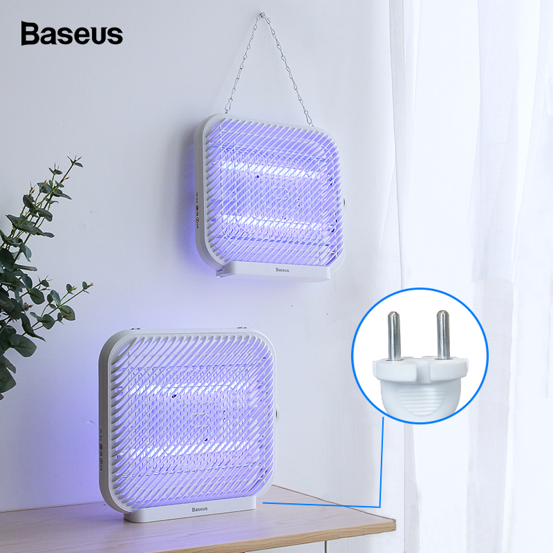 BASEUS UV USB Light Mosquito Killer Electric Mosquito Killer Lamp  Photocatalysis Mute Home LED Zapper Insect Trap RadiationlessUSB  Gadgets