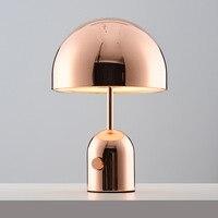 Постмодерн креативный арт настольная лампа Личность Мода простой Гостиная Кабинет Спальня прикроватная лампа гриб