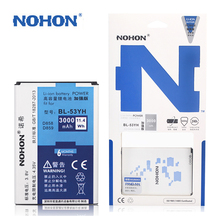 Original NOHON Battery For LG G3 D858 D855 D830 D851 VS985 D850 F400L High Capacity 3000mAh Retail Package