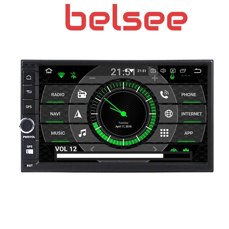 Belsee Melhor Duplo Din Unidade de Cabeça para Android 9.0 Din Som Do Carro Auto 2019 GB Ram 2 4 7 universal Sistema de Navegação GPS Rádio Do Carro - 6