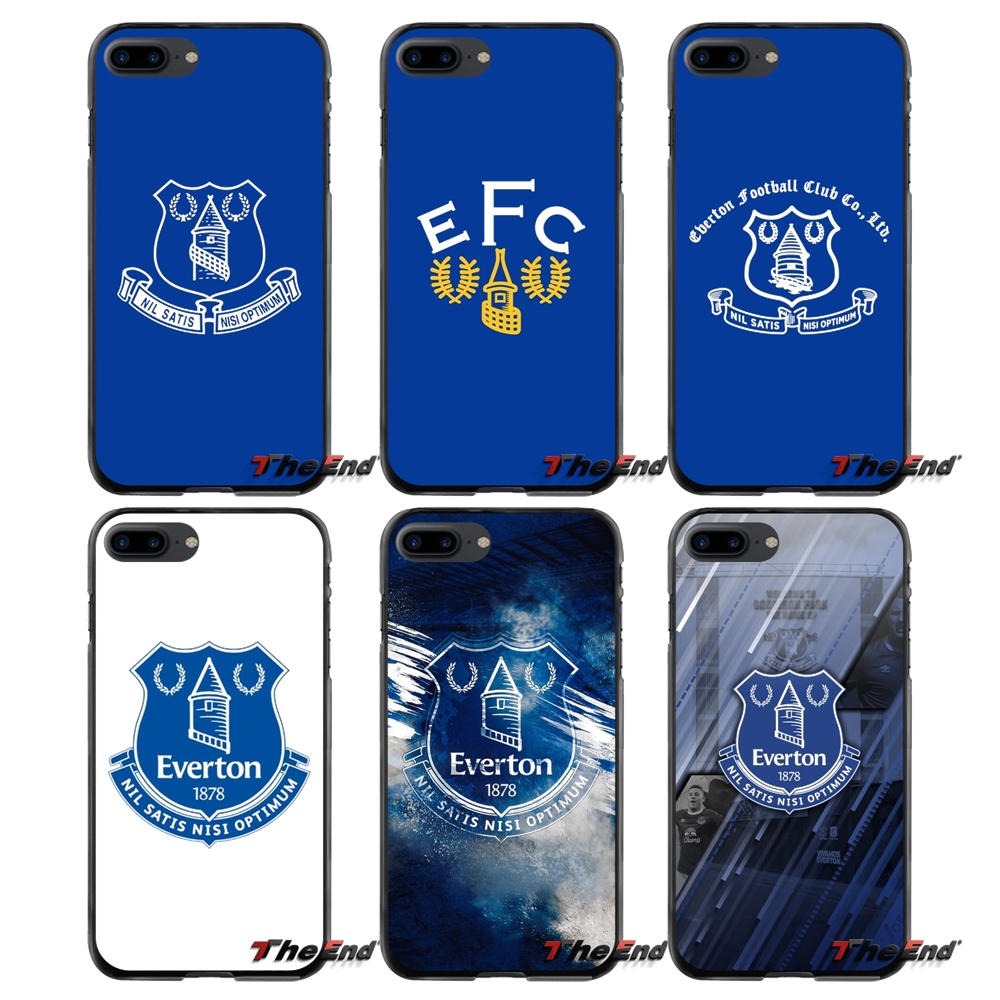 Accessories Phone Cases Covers fashion Everton Football Club For Apple iPhone 4 4S 5 5S 5C SE 6 6S 7 8 Plus X iPod Touch 4 5 6