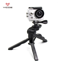 High-end Tripod Monopod Mount Adapter for Go Pro Hero 5/4/3 Xiaomi Yi 4k SJCAM Gopro Session Sport Action Camera Accessories
