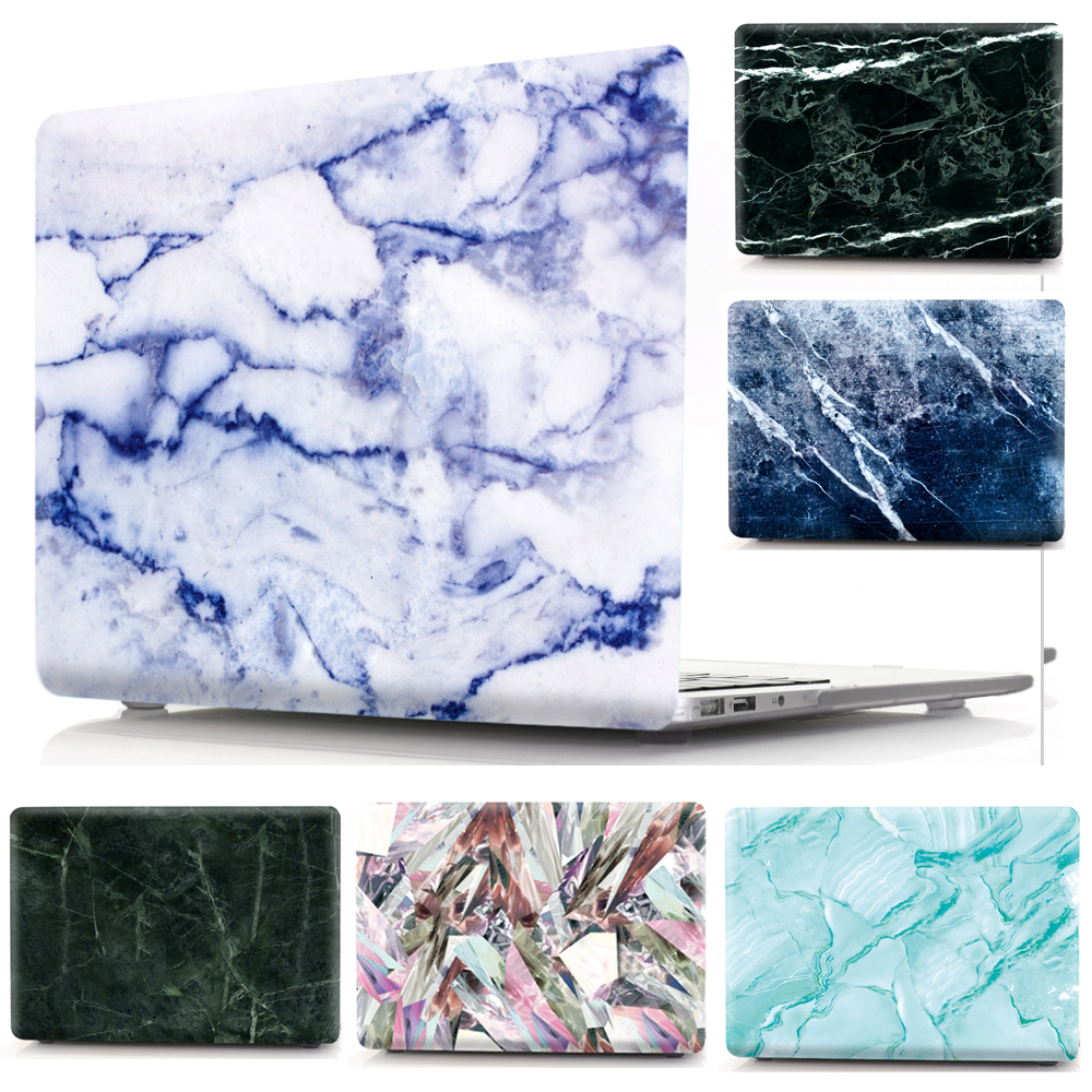 Marble Pattern Print Case For Apple Macbook Air Pro Retina 11 12 13 15 Case Cover for Apple Mac Air Pro 13.3 15.4 with Touch Bar Price $19.99