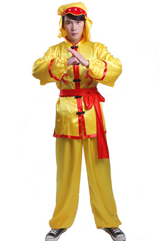 Martial arts costume China Classic embroidered dragon border folk style group activities dragon dance lion dragon dance suits