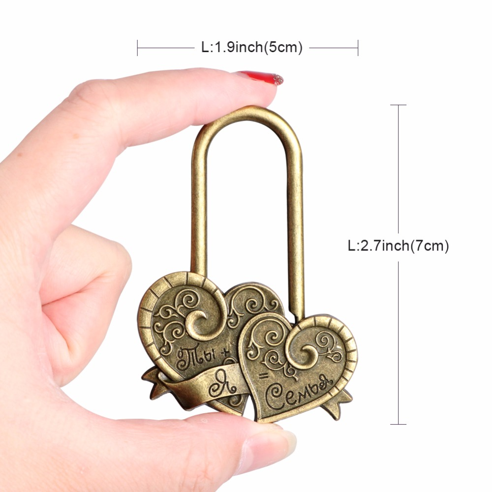 Aliexpress com : Buy Aytai Wedding Lock Family Unity Ceremony at Wedding  Lock of Love Heart Together Lover Forever Reproduction Gift from Reliable