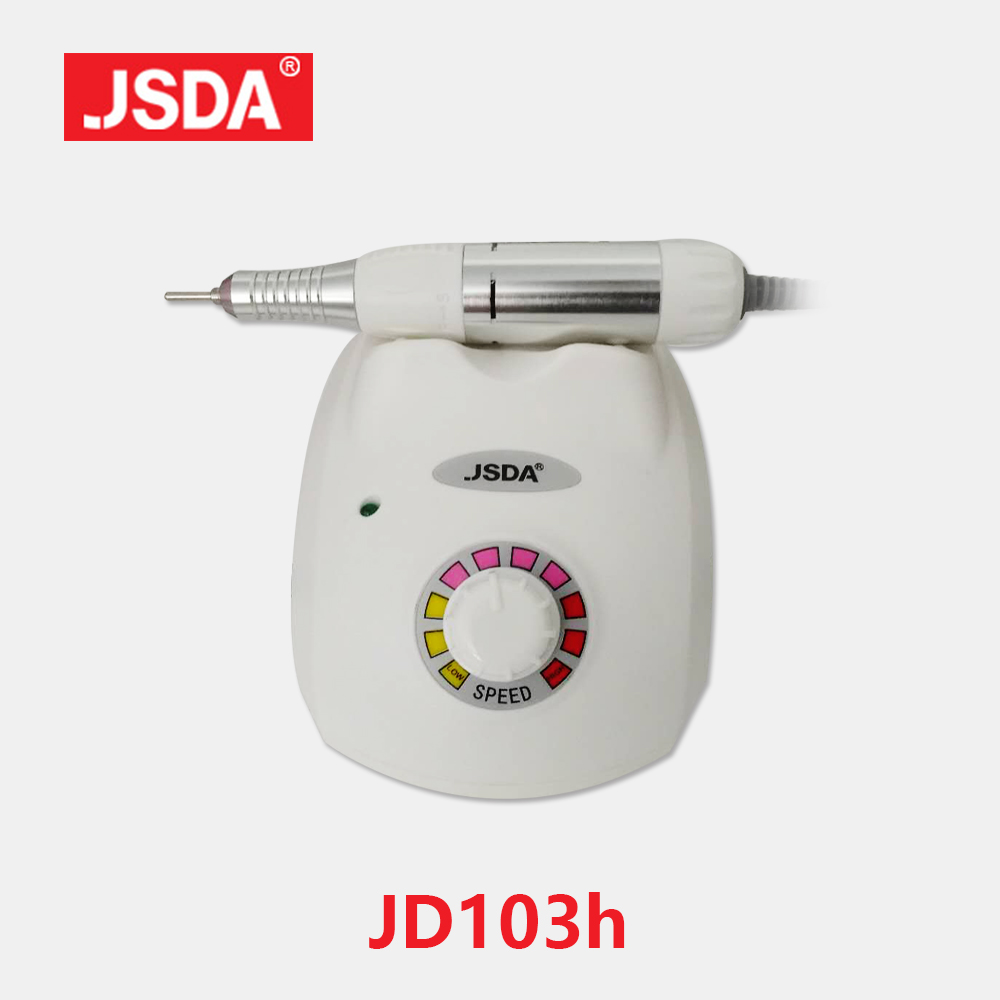 Direct Selling JSDA JD-103H 35W 30000rpm Tool Nails Art Equipment Accessoires Polish Tools Electric Manicure Machine Nail Drill new pattern beautiful first charge polish manicure machine portable 30000 high capacity nails drill nail art equipment
