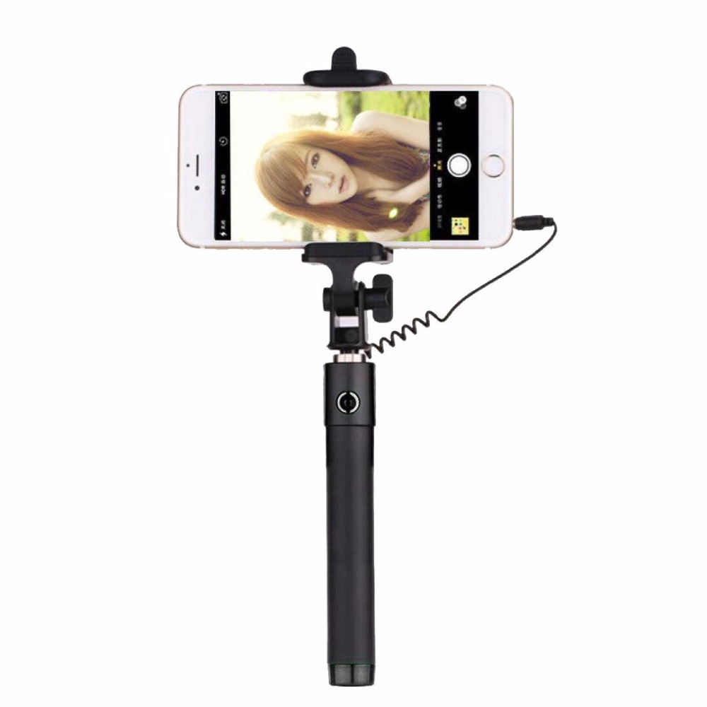 luxury extendable folding wired selfi self selfie stick monopod for samsung galaxy s5 note3. Black Bedroom Furniture Sets. Home Design Ideas