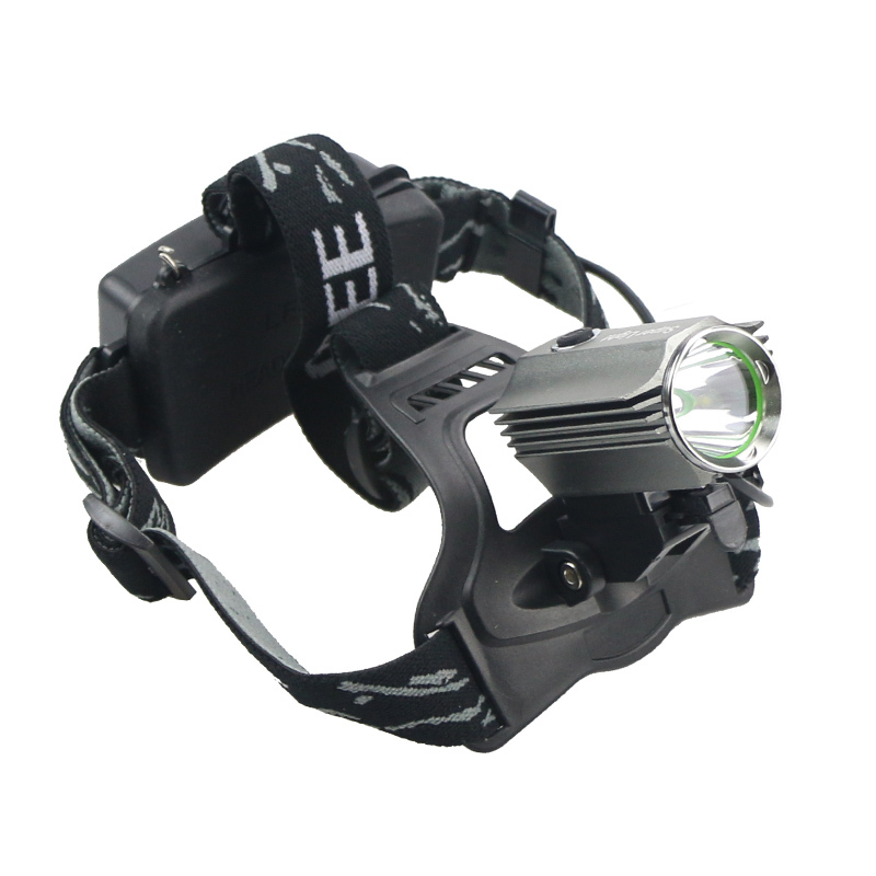 Free Shipping 1800 Lumen CREE XM-L T6 LED Headlamp Headlight Head Torch Lamp Light 18650 Waterproof Bike Light