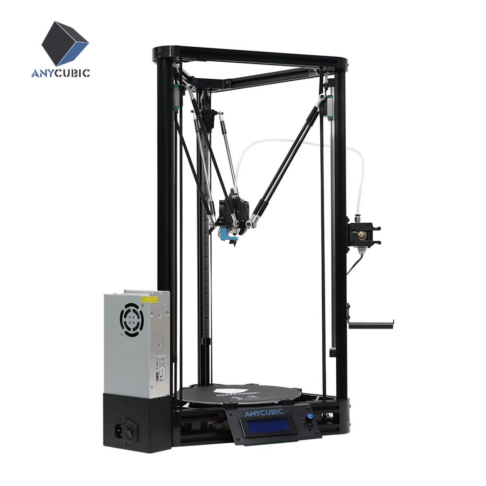ANYCUBIC Kossel 3d Printer Auto Leveling Module Delta Linear Plus Version Large Printing Size Desktop 3D