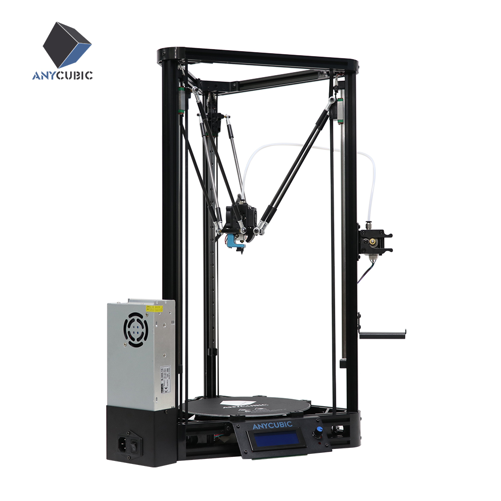 ANYCUBIC Kossel 3d Printer Auto Leveling Module Linear Plus Version Large Printing Desktop 3D Impressora drukarka 3d KIt-in 3D Printers from Computer & Office    1