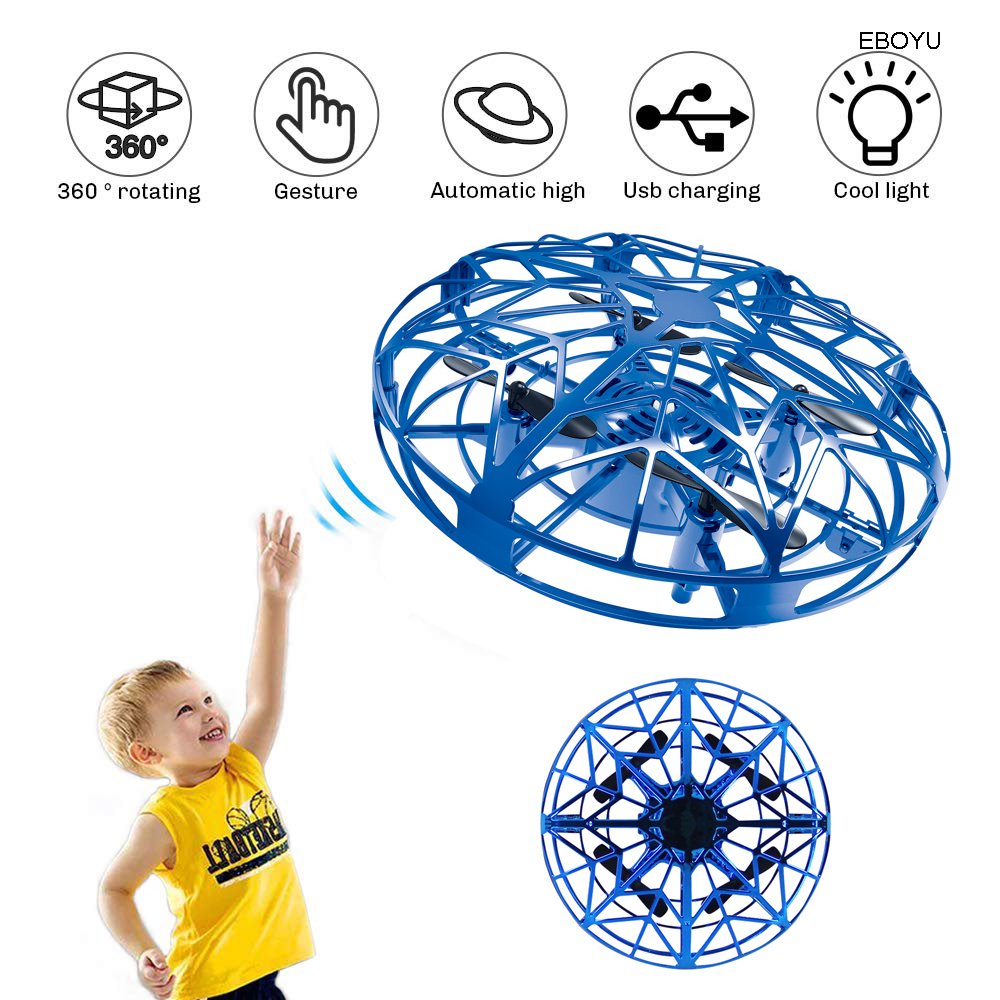 EBOYU K36 UFO Flying Ball Toys Gravity Defying Hand Controlled Suspension Helicopter Toy Infrared Induction Interactive Drone quadcopter drone rc quadcopter drone6-axis gyro - AliExpress