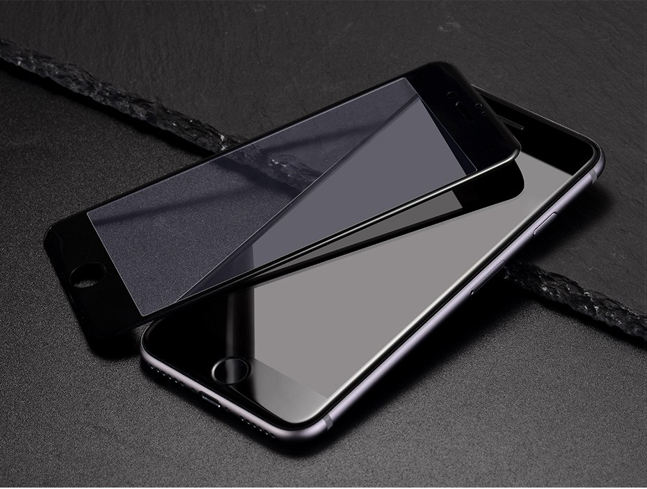 HOCO Full Cover Anti Scratch Glass Film For Apple iphone 6 6S White Black Protective Film For iphone 6 6s plus 3D soft edge_18