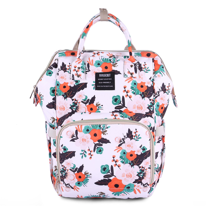 Beautiful Original Brand Printed Shoulder Backpack Cartoon Printed Bags Korean Sweet Graffiti Traval Storage Diaper Changing BagBeautiful Original Brand Printed Shoulder Backpack Cartoon Printed Bags Korean Sweet Graffiti Traval Storage Diaper Changing Bag