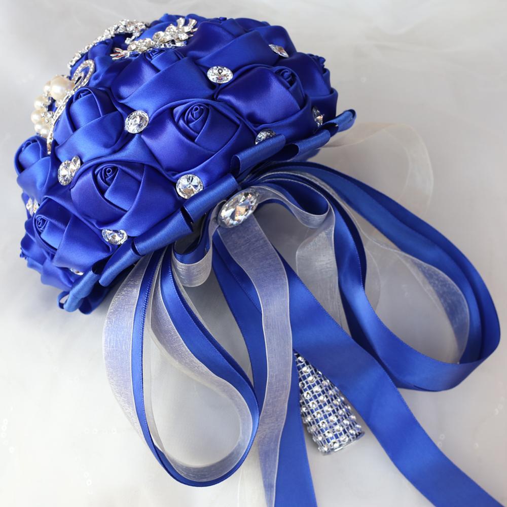Tusels luksoze Royal Blue Tassels Diamond Dasma, Buqeta e Nusërve - Furnizimet e partisë - Foto 3