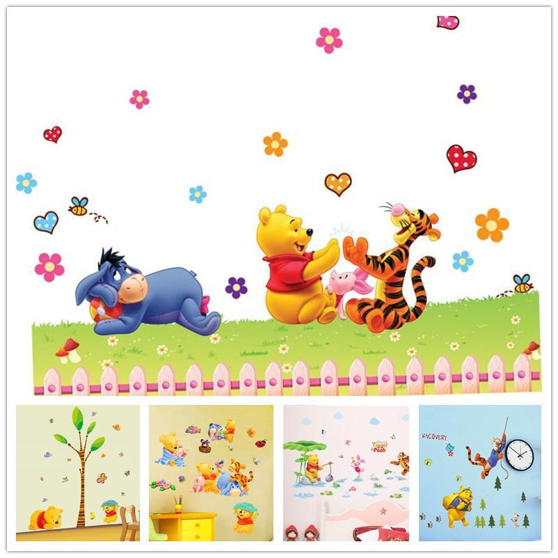 Disney Winnie The Pooh Aufkleber Mickey Mouse Minnie PVC Wasserdicht ...