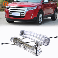 White Yellow Daytime Running Lights Fit For Ford Edge First Generation 2011 2014 Facelift Turn Signal