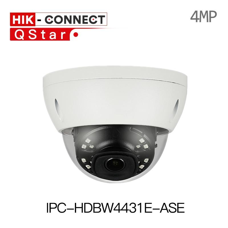 DH IPC-HDBW4431E-ASE 4MP IR Mini Dome Network IP Camera Smart Detection 30m IR H.265 Alarm Audio In/out WDR IP67 IK10 PoE original ipc hdbw4431f as 4mp ir mini dome network ip camera ir20m support micro sd card smart detection h 265 wdr ip67 ik10 poe