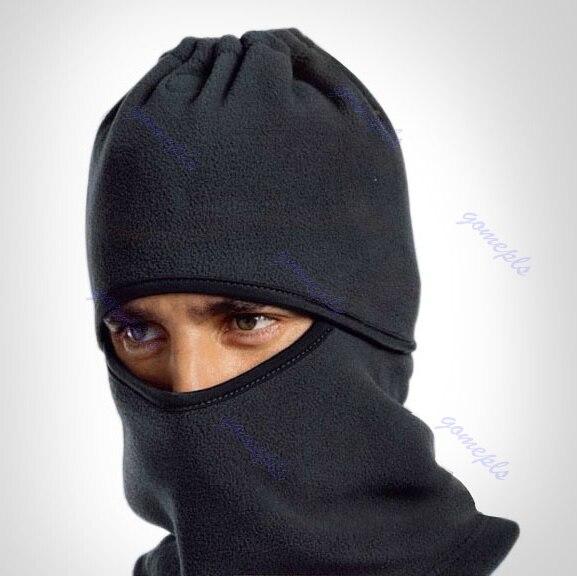 Hot Sell 6 in 1 Thermal Fleece Balaclava Hood Police Swat Ski Bike Wind Stopper Face Mask