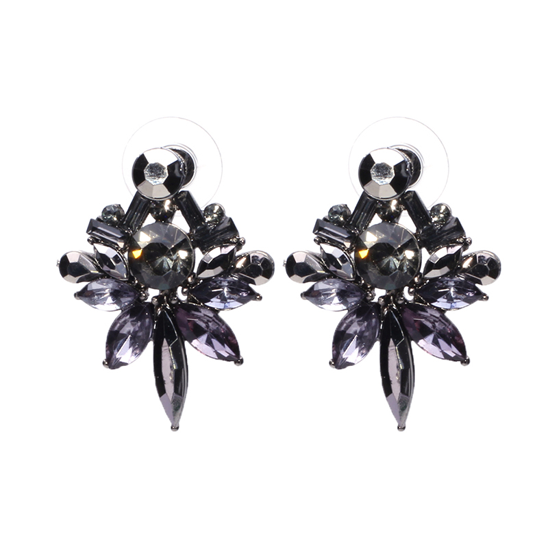 2017 Wholesale Good Quality Stud Earrings Off White brincos Cristal Statement Vintage Accessories Earings Fashion Jewelry